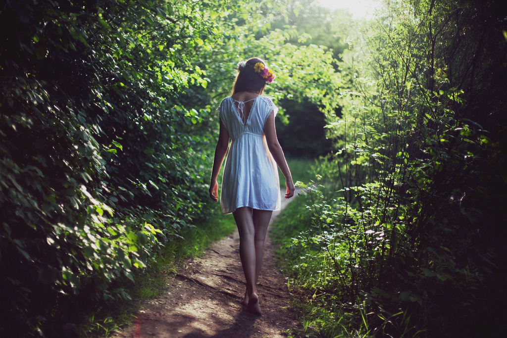 blumen, forest, freiheit, girl, good moote