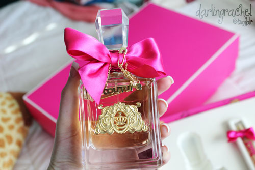 bow, girly, gold, juicy, juicy couture
