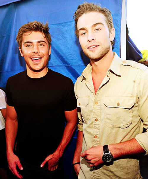 boy, boys, chace and zac, chace crawford, hot, men, sexy, zac efron