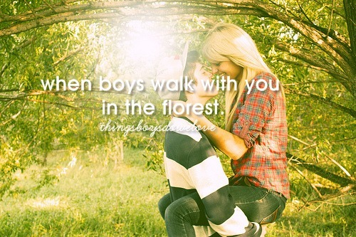 boys, couple, cute, florest, girls