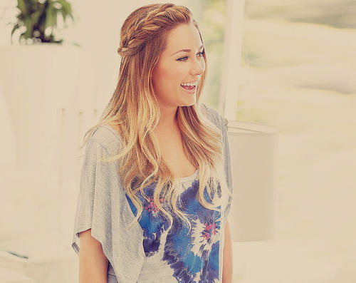 braid, cute, girl, lauren conrad, long hair