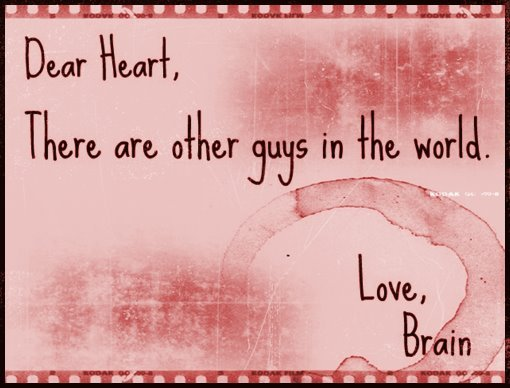 brain, girls , guys, heart, love