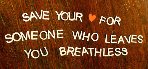 breathless, cute, heart, love, quote