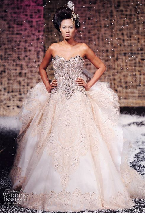 bride, cute, dress, fashion, gown