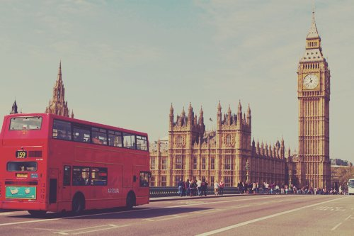 bus, england, london, photograpy, vintage