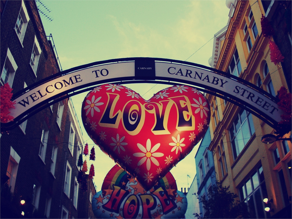 carnaby street, christmas, city, england, lights
