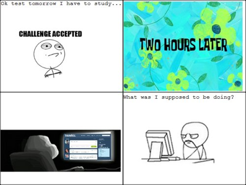 challenge accepted, funny, hours, lol, meme comics