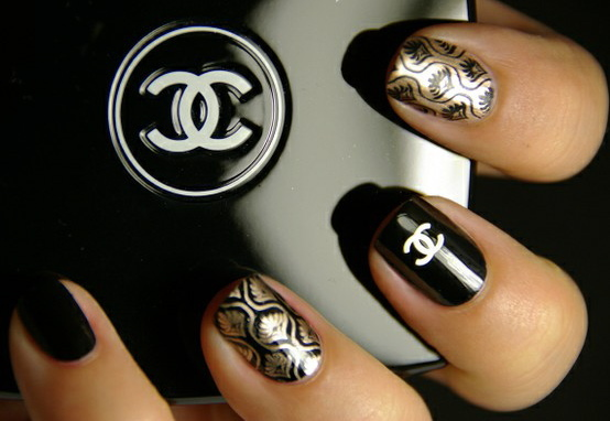 chanel, makeup, nails