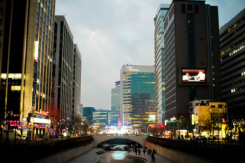 cheonggyecheon, i neeeeed to go to seoul, seoul, south korea