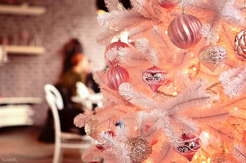 christmas, christmas tree, decorations, lights, ornaments, pretty, tree