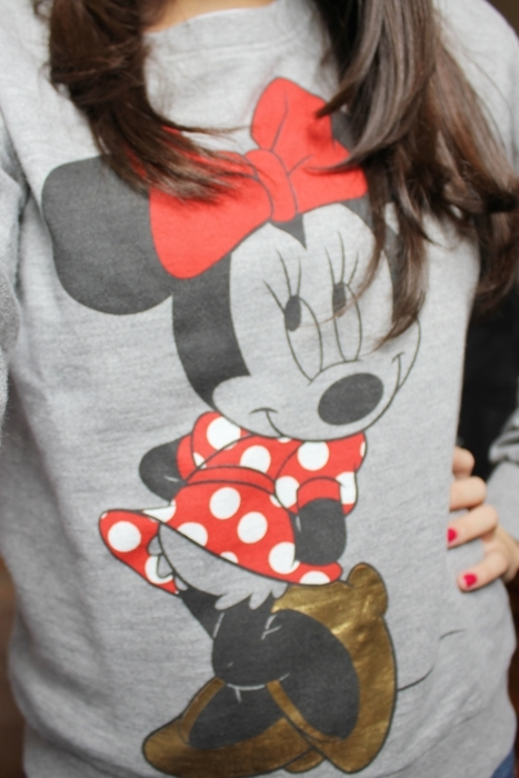 clothes, dsiney, minnie, red, roupas