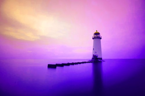 cloud, clouds, landscape, light house, ocean, photography, purple, sea, sky, view, water
