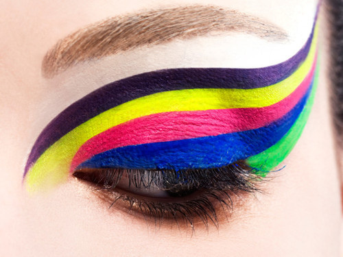 color, colorido, cor, eyes, girl, mac, make, olho, perfect, sombra