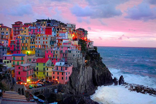 colors, colors by the sea, houses, luxury, sea