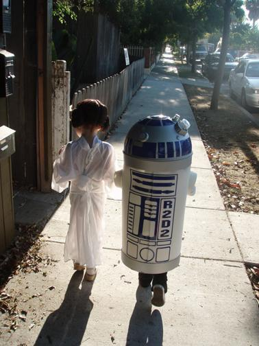 costumes, kids, princess leia, r2-d2, star wars