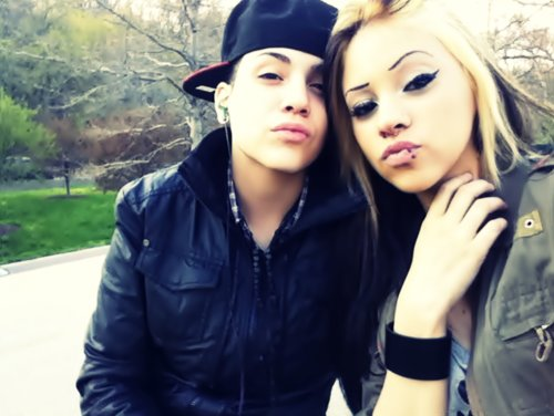 couple, couple with swag, cute, eyes, girl, hair, kiss, lips, love, lovers, p