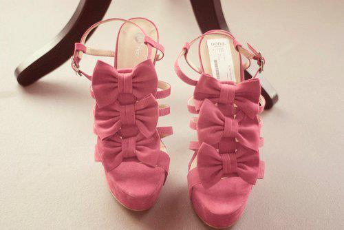 cute, fashion, girl, heels, high heels, hot, pink, pretty, sweet