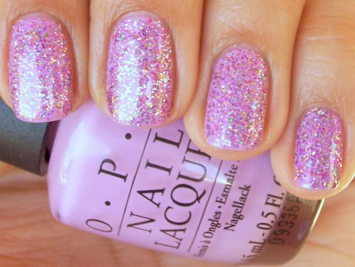 cute, girly, glitter, nailpolish, nails