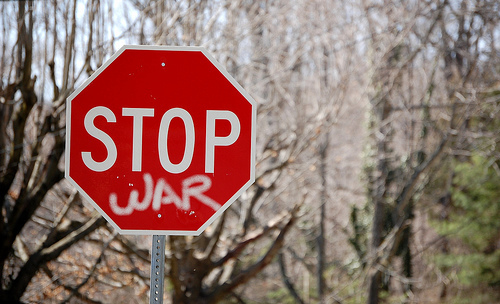 cute, photo, photography, picture, quote, red, stop, stop war, text, true, war, word, words