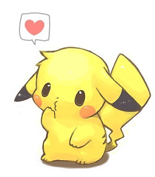 cute, pikachu, pokemon