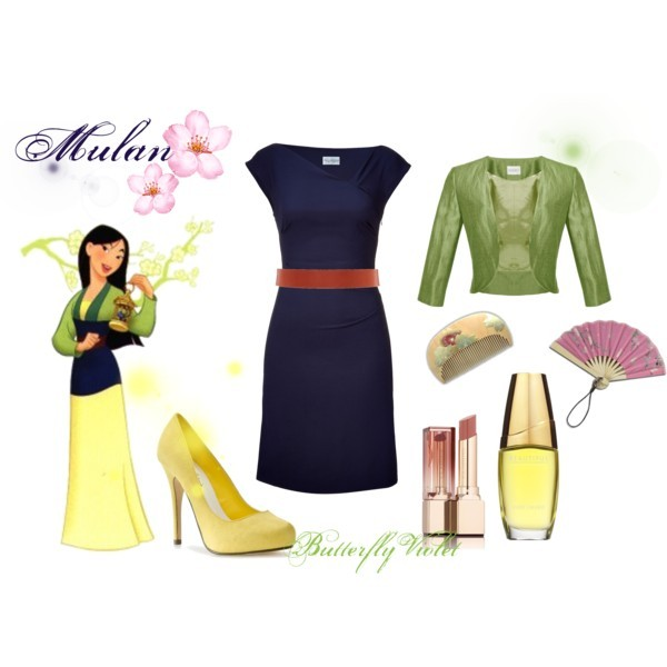 disney, mulan, polyvore, princess
