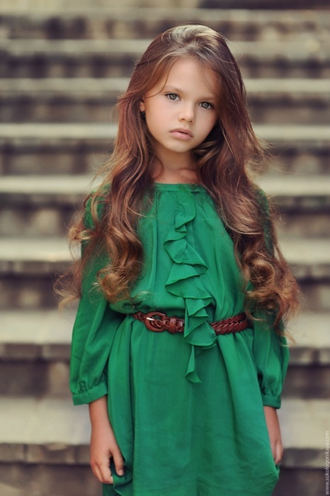 dress, girl, green, model, photography