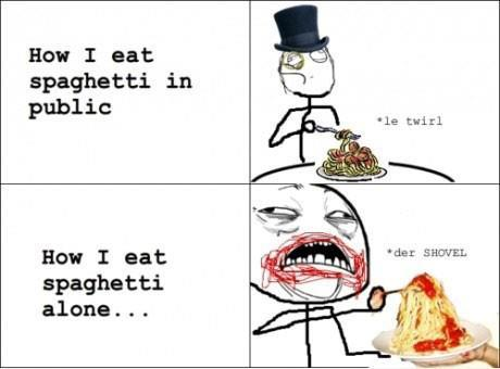eat, food, funny, spaghetti