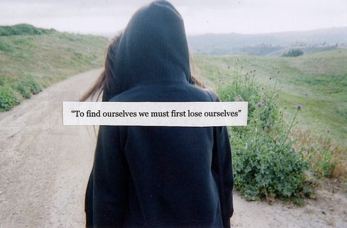 fact, find, lose, ourselves, quote