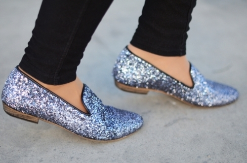 fashion, flats, glitter, sequin, shoes