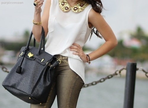 fashion, inspiration, jeweled collar