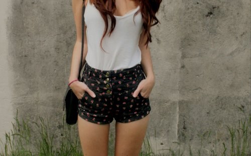 fashion, shorts, skinny