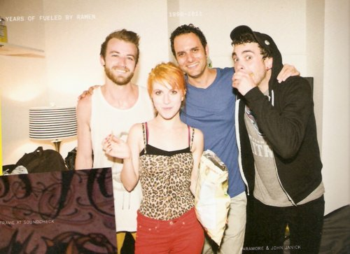 fbr 15 th, fueled by ramen, hayley williams, jeremy davis, paramore