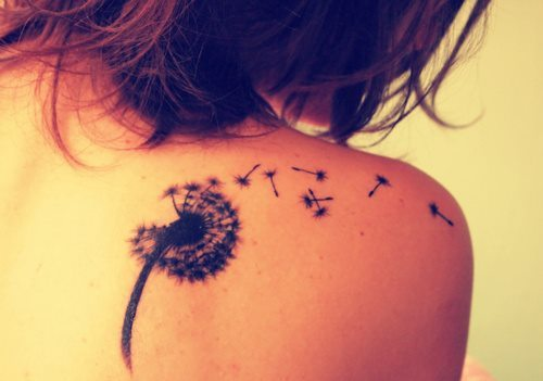 flower, love, music, peace, pretty, skin, tattoo