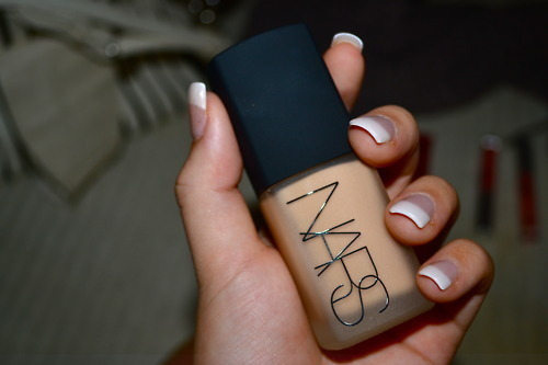 french, french manicure, makeup, manucure, nars, nils