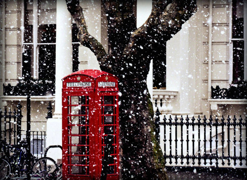 girl, london, snow, telephone, winther