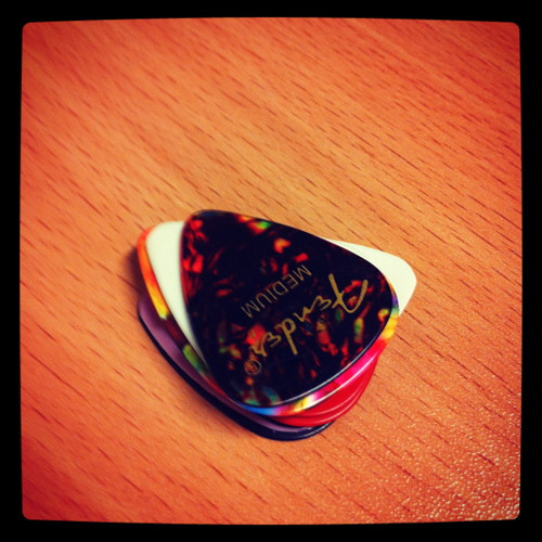 gitar, guitar, hard rock, pick, picks