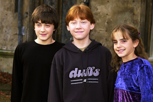 gryffindor, harry potter, hermione granger, ron weasley, the golden trio