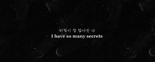 hangul, i have many secrets, lyrics, secrets, text
