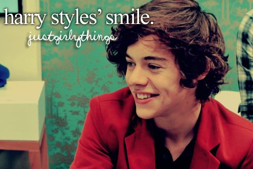 harry, harry styles, just girly things, justgirlythings, smile