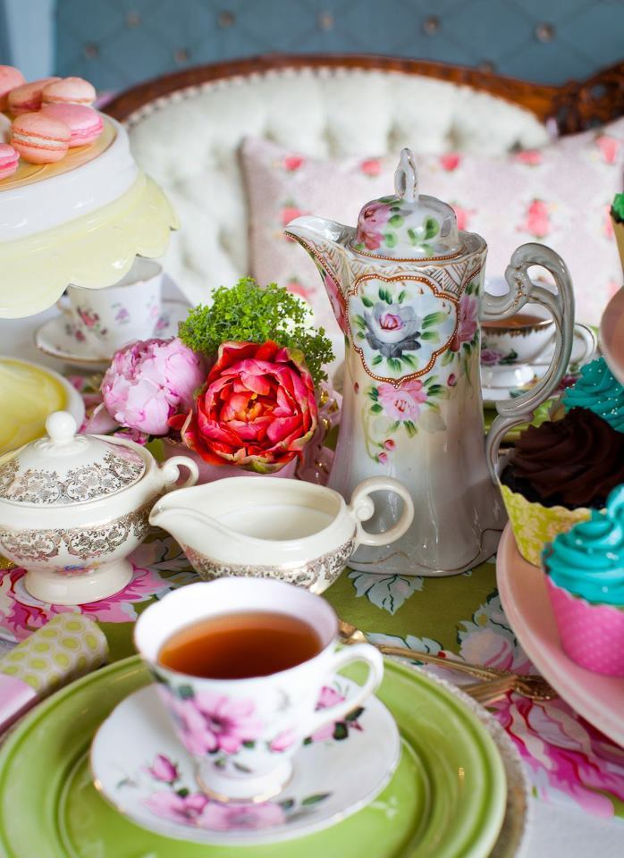 high tea, love, sweet, tea, teapot