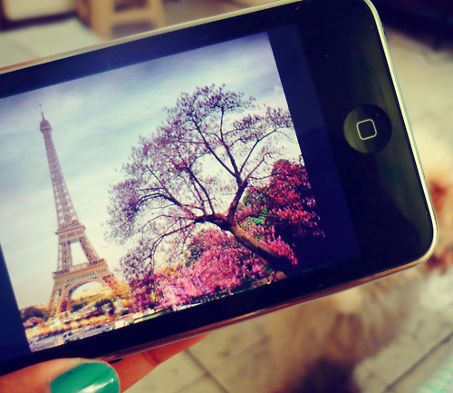 ipod, paris, photography, tower eiffel