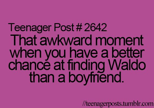 life, teenager post, waldo