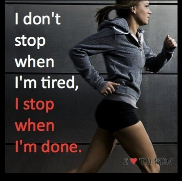 quotes, run, sport, stop, tired