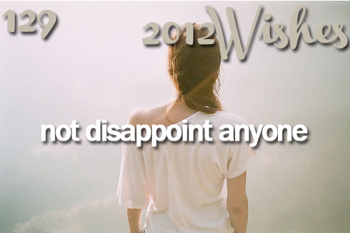 2012, 2012 wishes, cute, disappoint, inspiration