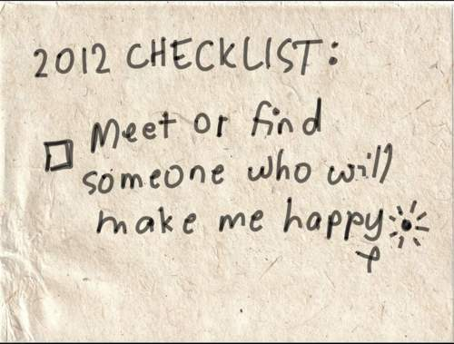 2012, checklist, happy, new year, photography
