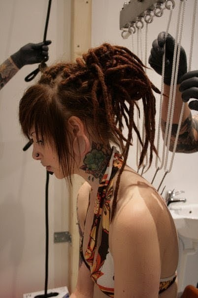 2pilas, dread, dreadlocks, dreads, girl