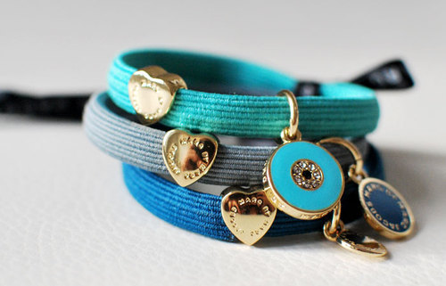 accessories, blue, bracelet, color, cute, fashion, look, love, marc jacobs, summer