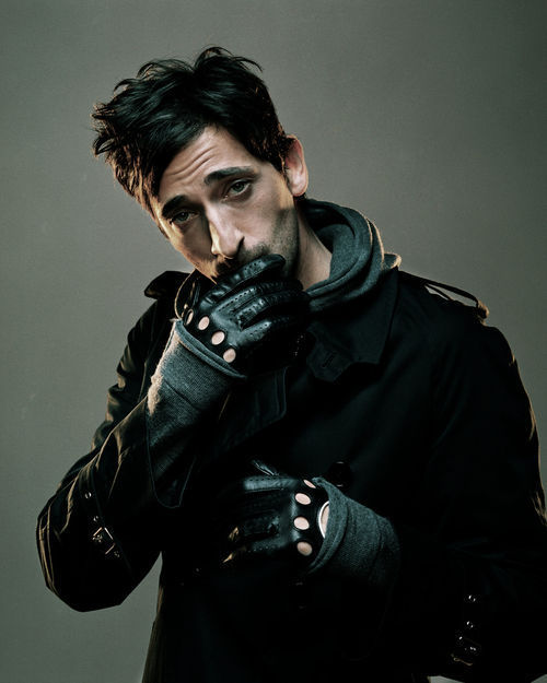 actor, adrien brody, blak hair, cute, good