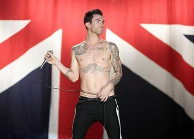 adam levine, boys, hot, maroon 5, moves like jagger