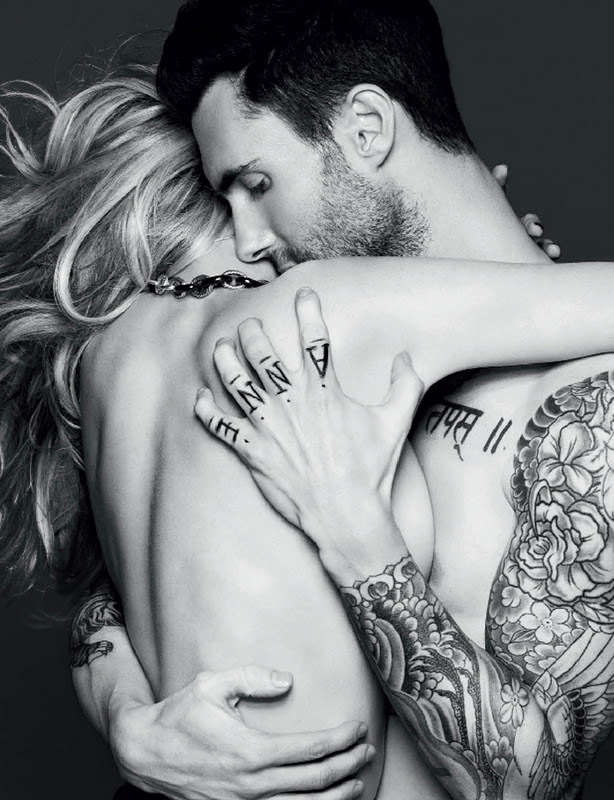 adam levine, skin, tattoo